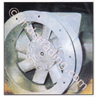 Bifurcated Axial Fan Variable Pitch