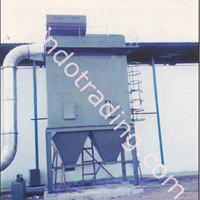Pulse Jet Bag House Dust Collector System For Painting Industry 1DA
